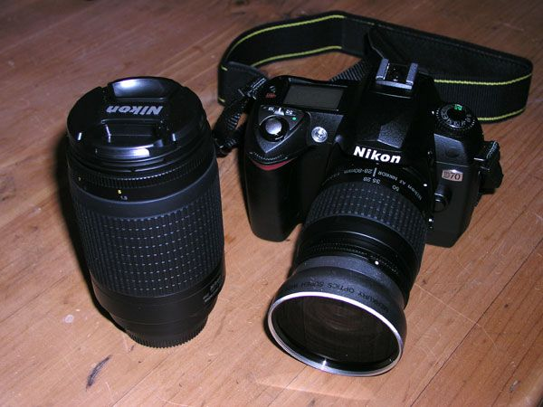 The D70 has arrived!