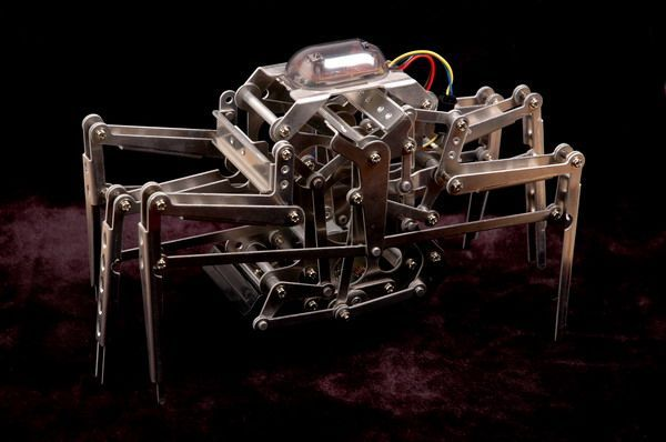 mechamo crab robot kit robotics laser cut